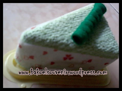 Towel Cake-pandan cake