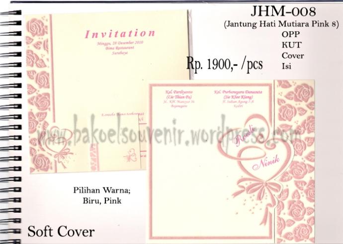 undangan pernikahan >> JHM-008 >> Rp. 2500,-
