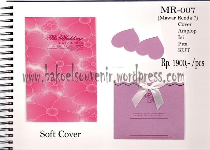 undangan pernikahan >> MR-007 >> Rp. 2500,-
