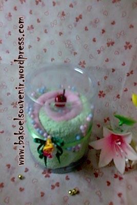 Towel cake cup >> Rp. 7000, /pcs
