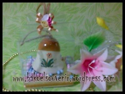 souvenir keramik-Bell BL-1 packing mika >> Rp.6500,-