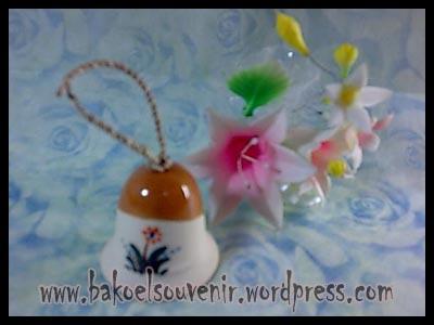 souvenir keramik-bell BL-1 >> Rp.6500,-