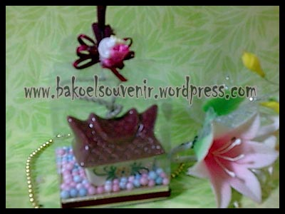 souvenir keramik-Bell BL-2 packing mika >> Rp. 6500,-