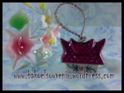 souvenir keramik-bell BL-2 >> Rp.6500,-