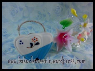 souvenir keramik-tempat kamper TK-1 >> Rp.5300,-