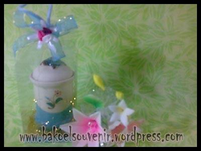 souvenir keramik-tempat tusuk gigi TG-6 packing mika >> Rp.6000,-