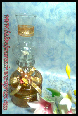 lampu tempel-apel coklat emas >> Rp. 7000,-/pcs