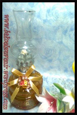 lampu tempel/minyak/semprong/ublik-apel coklat >> Rp. 6800,-/pcs