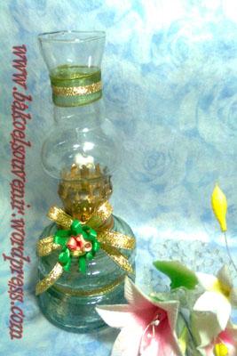 lampu tempel-apel hijau emas>> Rp. 7000,- /pcs