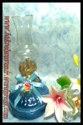 lampu tempel/minyak/semprong/ublik-jamur biru >> Rp. 6500,- /pcs