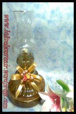 lampu tempel-jamur coklat >> Rp. 6800,- /pcs