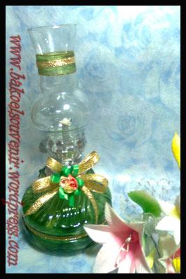 lampu tempel/ublik/oblik/semprong-jamur hijau emas >> Rp. 6500,-/pcs