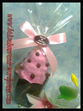 towel cake-ice cream chips >> Rp. 5500,-/pcs