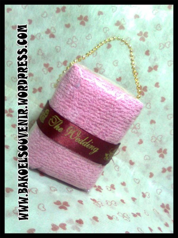 towel cake-Bag towel >> Rp. 5000,-/pcs
