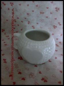 Souvenir pernikahan keramik-gelas bola golf | Rp. 11.500,-/pcs