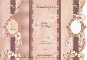 undangan pernikahan-cover kl309 >> 2500,-/pcs
