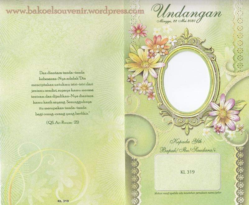 undangan pernikahan-kl319 >> Rp.3000,-/pcs