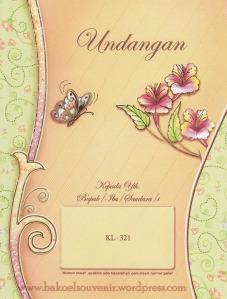undangan pernikahan-kl321 >> Rp.2750,-/pcs