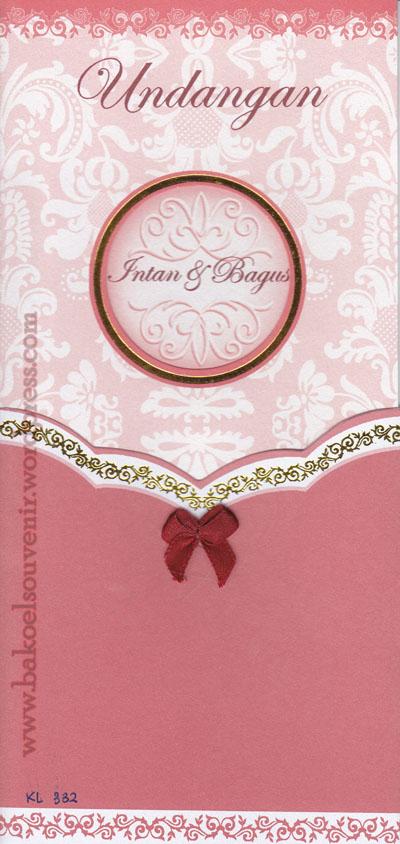 undangan pernikahan-kl332 >> Rp.3500,-/pcs