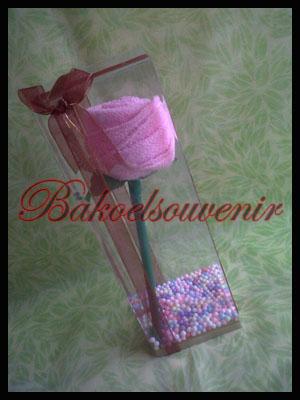 towel mawar - towel cake rose - Mika kotak | Rp. 8500,-/pcs