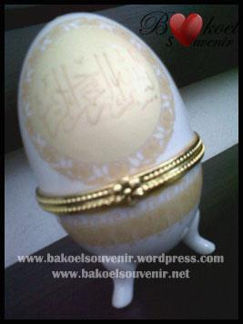 Tempat Perhiasan Model telur-keramik >> Rp.10.000,-/pcs