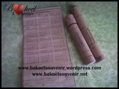 undangan gulung bambu >> Rp. 6000,-/pcs