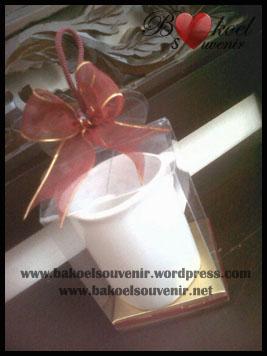 Souvenir keramik Gelas Nescafe - 11500