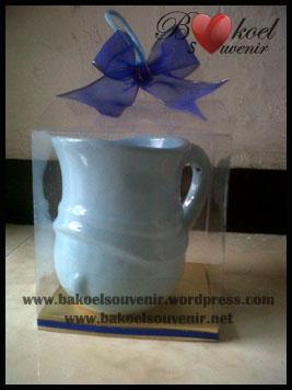Souvenir keramik MUG Masinis - 20.000
