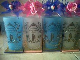 souvenir gelas 212N packing mika dengan sablon sesuai permintaan anda